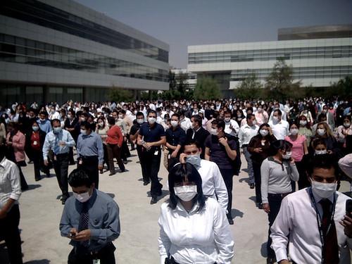 La foule masquée