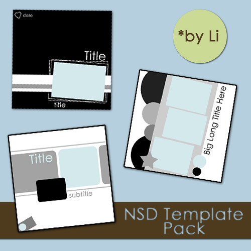 NSD Template Pack preview