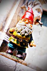 Benjamin David travelling_1 (Lost in a Secret Garden) Tags: travelling town high gnome italia dwarf amelie alta bergamo città poulain
