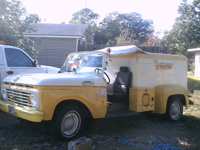 ford ice truck cream f100 1963