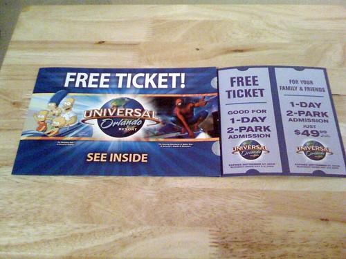 Free Universal Pass