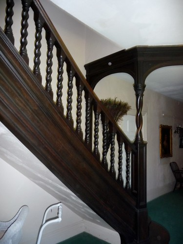 Servant's Stairs to Third Floor