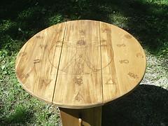 Leonardo Di Vinici Alchemy Table (dragonoak) Tags: man leonardo alchemy divinci tarottable