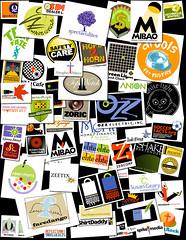 Few examples of combination logos