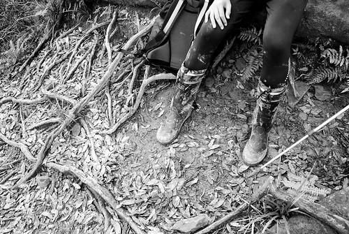 好強的雨鞋XD