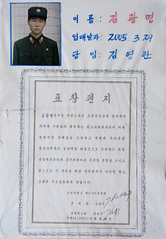 Soldier's letter to former school - North Korea (Eric Lafforgue) Tags: pictures photo war asia picture korea kimjongil asie coree northkorea pyongyang dprk coreadelnorte kimilsung nordkorea    coredunord coreadelnord  northcorea coreedunord  insidenorthkorea  rpdc  coriadonorte  kimjongun northkoreaarmyphotos coreiadonorte