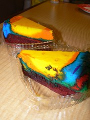 Pop Century Resort Tie Dye Cheesecake