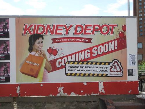 Kidney Depot Ad