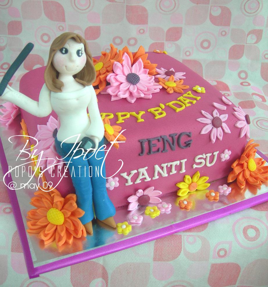 Fuschia Cake