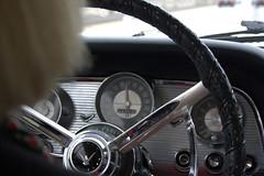 '58 T-bird dash