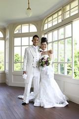"IMG_6209 TU-KA & MAMI (""HK Productions"") Tags: japan canon japanese bride ceremony marriage mami reception mie rocca tuka kuwana canonef2870mmf28lusm canoneos30d   weddeingparty"