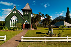 Wind (tedjohnjacobs) Tags: church hawaii kauai hanalei superwideangle nikond90 tokina1116