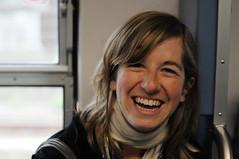 laFra (diabbolo) Tags: portrait smile face francesca pisa sorriso ritratto treno viso fra amburgo cremona volto ghezzano weekendghezzanese