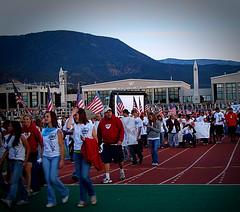 Parade of Athletes (Jenn (ovaunda)) Tags: red utah sony opening cedarcity summergames dsch5 jennovaunda ovaunda