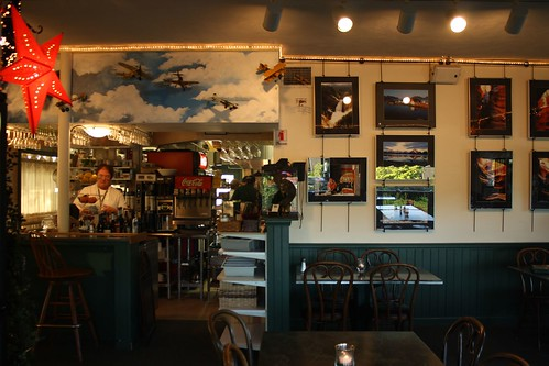Nancy's Airfield Cafe - Inside
