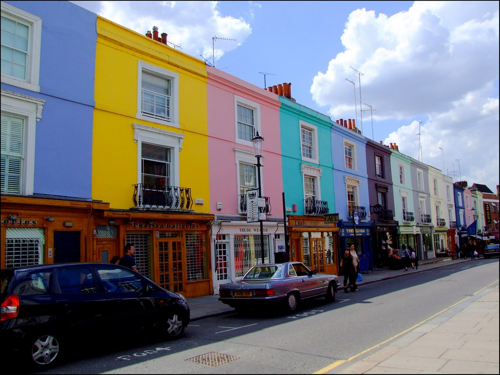 Colour and Serendipity on Portobello Road