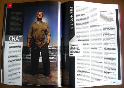 Peter Diamandis in Wired Italia