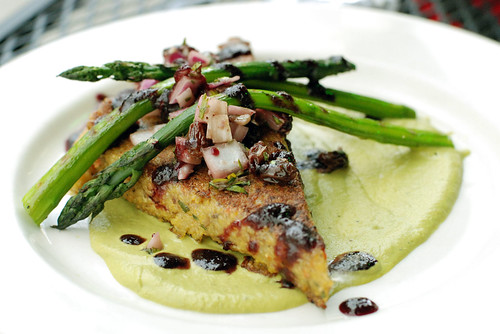 Eating Out: Cafe Agris Wild Mushroom and Asparagus Polenta