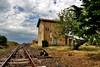 Un treno per Bosa (valerius25) Tags: sardegna train canon sardinia railway digitalrebel treno bosa fds binario macomer 400d valerius25 valeriocaddeu pozzomaggiore planargia