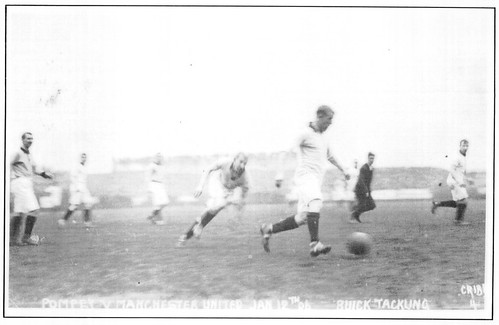 Portsmouth Vs Manchester United, January 12, 1907