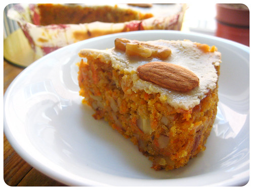 Carrot Cake with Tofu Cream