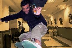 algo que hacer (.vintage.) Tags: selfportrait photoshop vintage way ray yo autoretrato colores movimiento ban mauricio jimenez farer