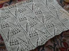 fernfrost 6/27/09 (dahl of wool) Tags: lace cashmere artyarns fernfrost knitspot
