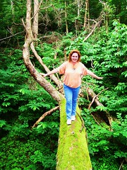 Me crossing the Tree of Despair