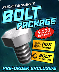 Ratchet & Clank Future: A Crack in Time - Bolt Package
