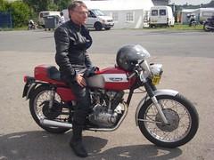 Ducati 250 (motosanglaises) Tags: classic vintage mono racing motorbike moto motorcycle ducati ancienne motorrad anciennes monocylindre