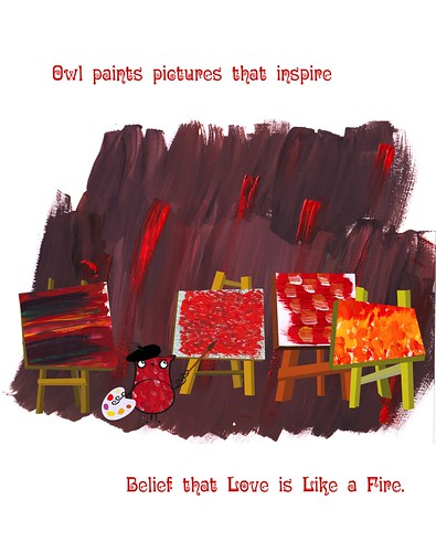 78 - Owl paints pictures that inspire ...