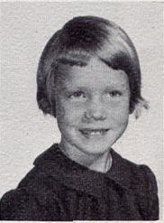 Ellen Uhlig, kindergarten pupil at St John Elementary School in Seward, Nebraska