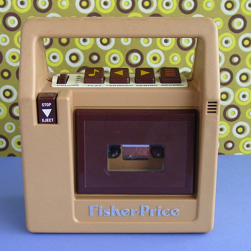 Vintage Fisher-Price Tape Player