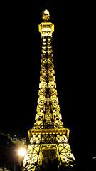 Eiffel Tower at Paris hotel 2