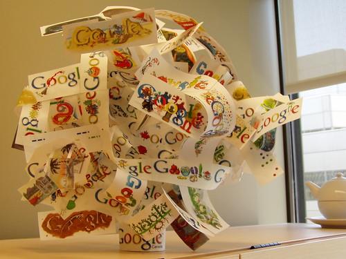 Google Doodle Art