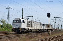 RBH 906 mit RBH 907 ( Vossloh G2000 ) (vsoe) Tags: west germany deutschland nrw duisburg ruhrgebiet nordrheinwestfalen ecr oberhausen lz mathilde ruhrpott rbh g2000 vossloh wannheim