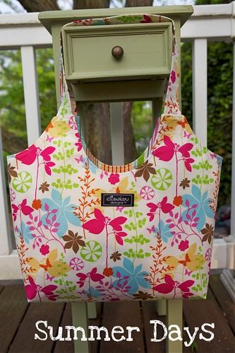 Butterfly Garden Boho Bag