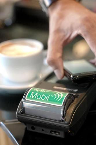The PayEx Mobil system lets shoppers pay via their phones.