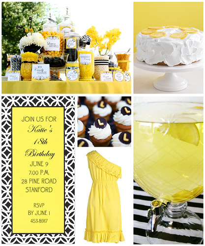 Yellow and Black Birthday