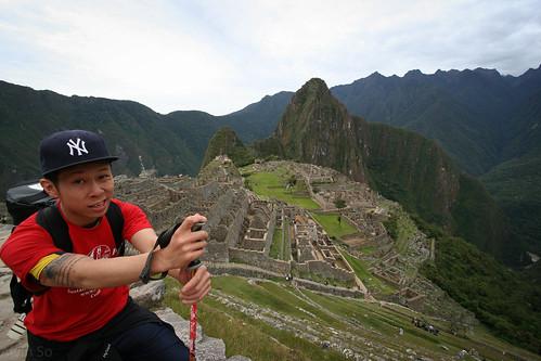 Machu Picchu Arrival