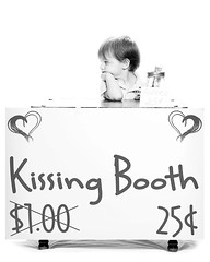 xan kissing booth 2 (Krista Gabbard) Tags: boy toddler funny kisses valentine lonely valentinesday kissingbooth