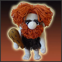 Unga, The Caveman - Amigurumi Pattern by DeliciousCrochet (DeliciousCrochet) Tags: kids toy doll pattern patterns crochet plush plushie etsy amigurumi troglodyte tutorial stoneage caveman primitivo humanfigure troglodita cavernicola delciouscrochet