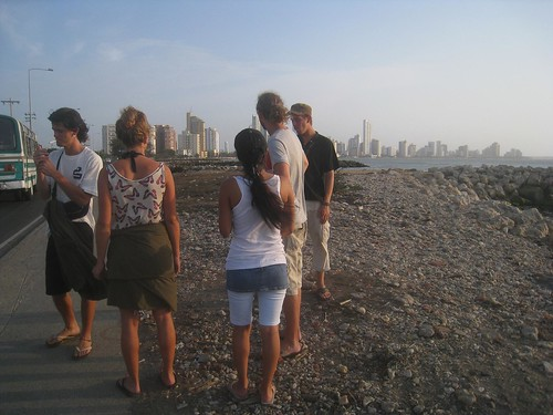 Bumbling around Cartagena