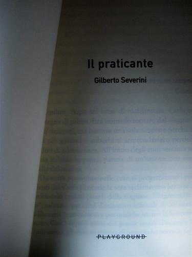 Gilberto Severini, Il praticante, Playground, 2009. Frontespizio, (part.) 1