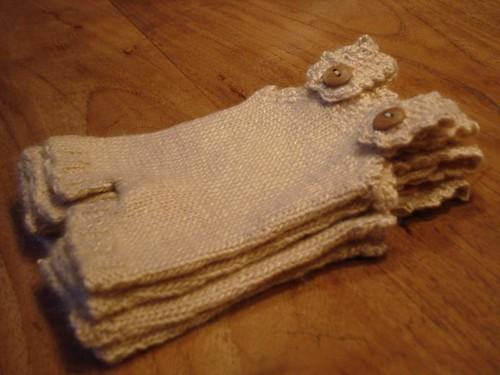 handknitted doll underwear