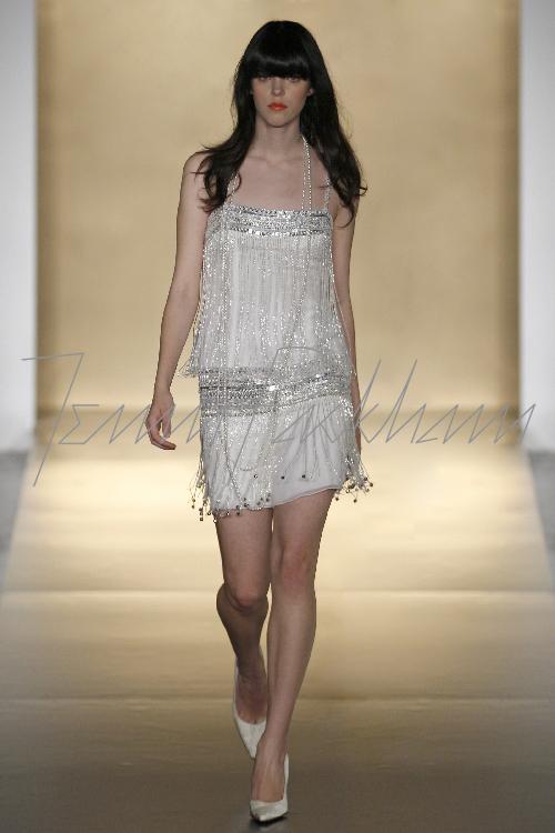 JENNY HACKHAM BRIDAL MARKET 2007 NY 10/20/07