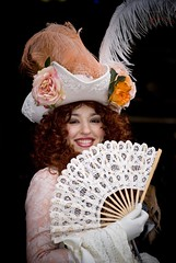Venice Carnival 2009 - Mademoiselle portrait.