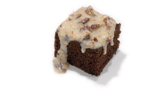 German Chocolate Cake Square Icon