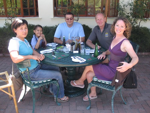 lunch with Kate and family