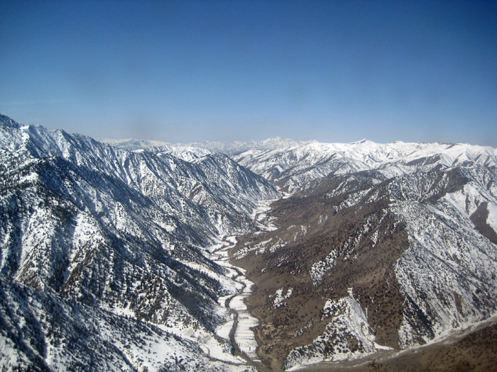 Mountains South of Kabul